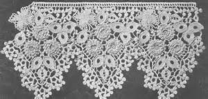 Quaker Lace Curtains by Antique Crochet Lace Crochet For Beginners