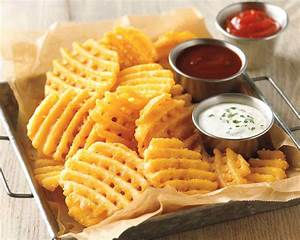 Image Gallery waffle fries