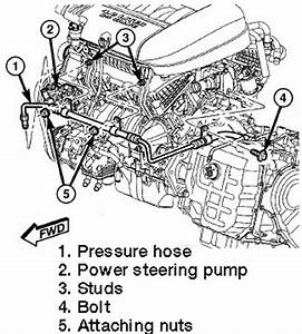 repair guides power steering pump removal With 1987 chrysler townandcountry accessory drive belt power steering