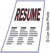 resume vector clipart eps images 3 814 resume clip