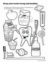 Coloring Dental Teeth Tooth Printable Health Hygiene Toothbrush Cartoon Brush Healthy Sheet Worksheets Related Dentist Colouring Month Sheets Printables Preschool sketch template