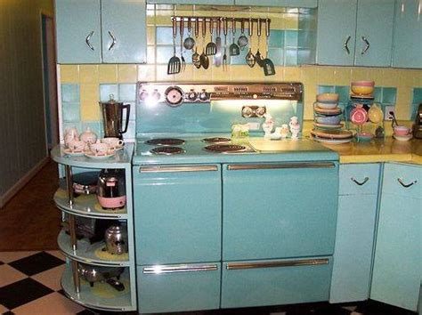 50s style kitchen cabinets 50 smart and retro style kitchen ideas for that different look 3923