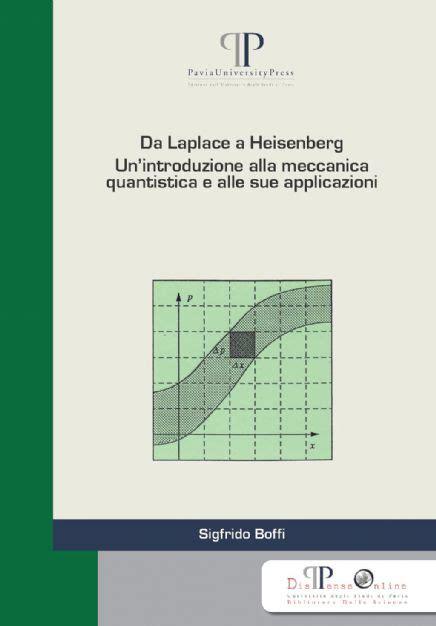 fisica teorica dispense da laplace a heisenberg pavia press