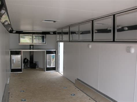 p carriages enclosed trailer cabinet options