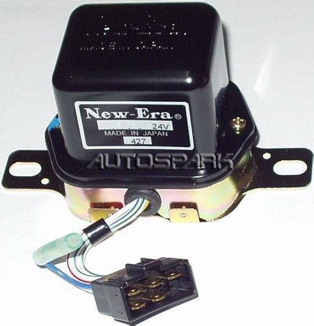 132628 cargo voltage regulator denso type external 28v toyota