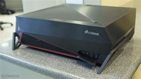 Corsair Bulldog A Living Room Pc With A Face Only A Gamer