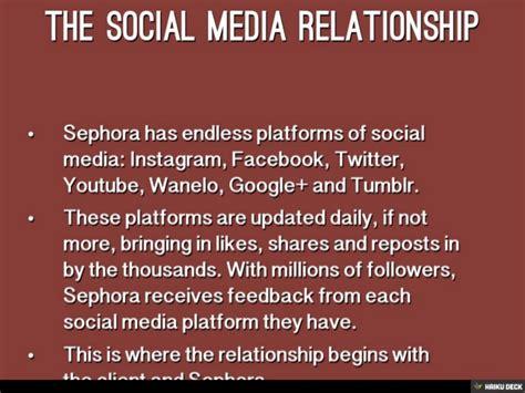 si鑒e social sephora sephora social meida