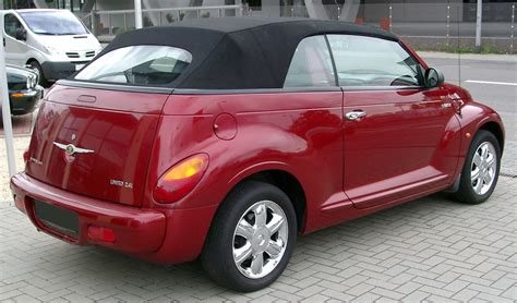 Are Chrysler Pt Cruisers Cars by 2004 Chrysler Pt Cruiser Limited Edition Wagon 2 4l