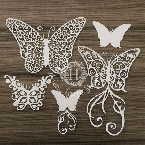 Create beautiful websites, products and applications /illustrations. Butterflies SVG cutting file and butterfly DXF cut file ...