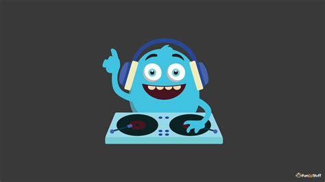 cute monster dj wallpaper fundjstuffcom
