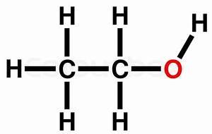 Ethyl Alcohol Structural Formula