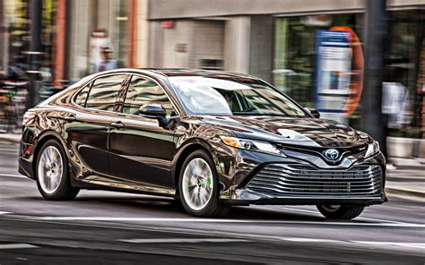 Download wallpapers 2019, Toyota Camry, front view ...
