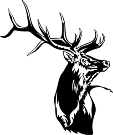 elk decal wl  hunting wildlife outdoors wildlife decal
