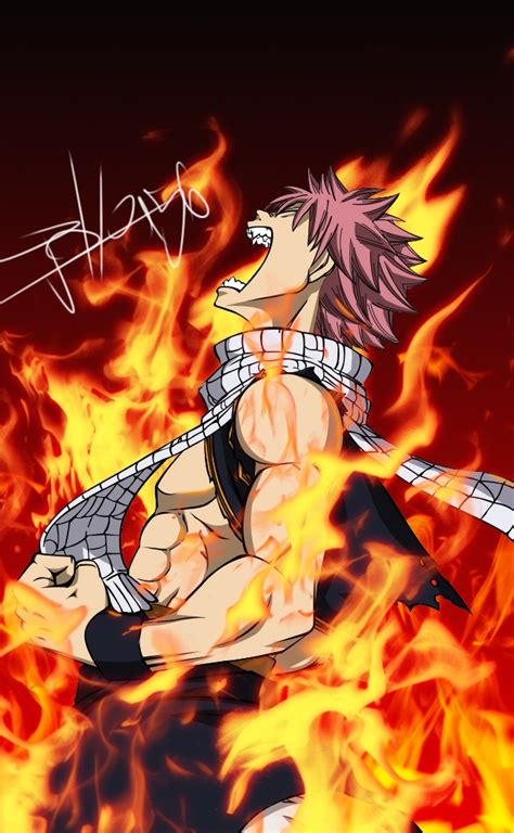 natsu dragneel fairy tail mobile wallpaper