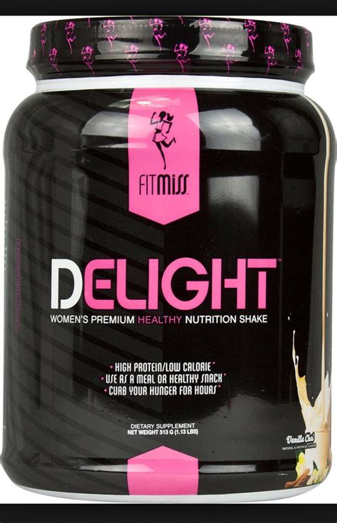 FitMiss Vanilla Chai DeLight Protein Powder- Best protein