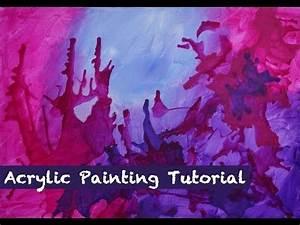 Marmor Effekt Spachtel : download video acrylic painting tutorial acrylmalerei ~ Watch28wear.com Haus und Dekorationen