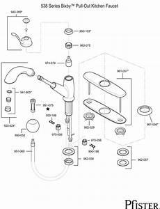 Pfister Kitchen Faucets Parts