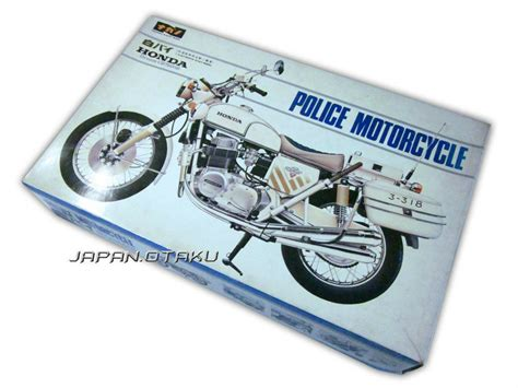 Honda Police Motorcycle Dream Cb750 Four 1