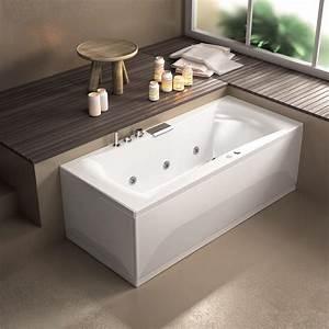 Baignoire Avec Porte Pas Cher : baignoire balneo 170x75 star mixte plus kinedo kinedo ~ Premium-room.com Idées de Décoration