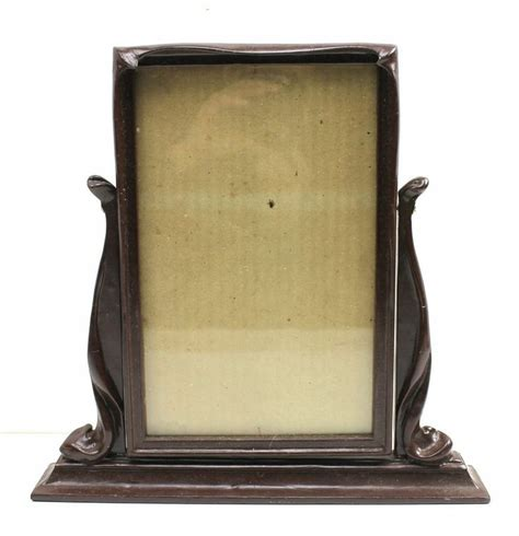 Tabletop Picture Holder by Antique Swinging Swivel Tabletop Picture Frame 10 5x6 5