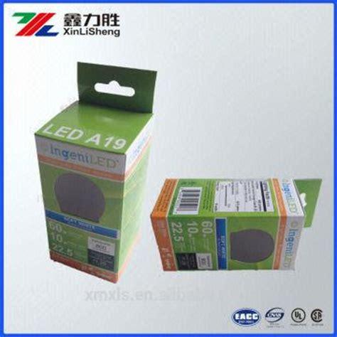 eco friendly led light packaging paper box custom printed