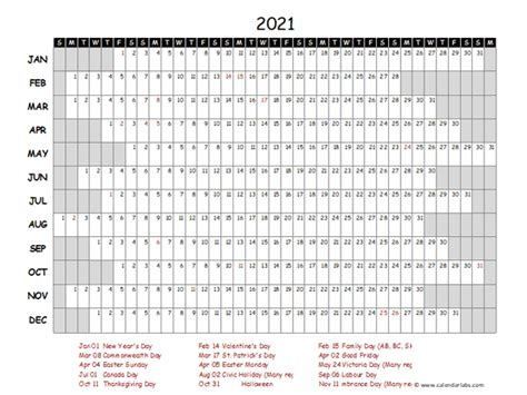 yearly project timeline calendar philippines