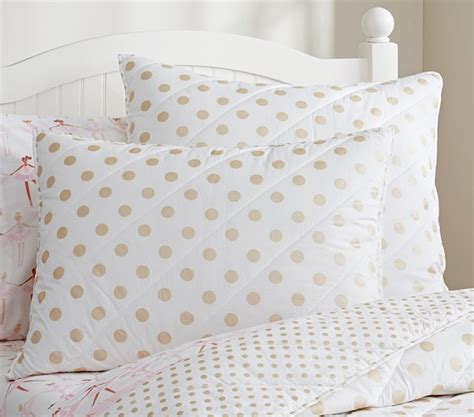 gold polka dot comforter gold polka dot quilted bedding pottery barn