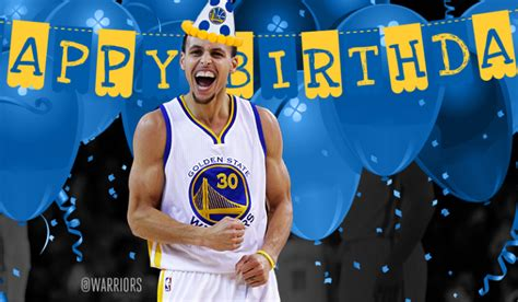 happy birthday steph curry check  ten facts