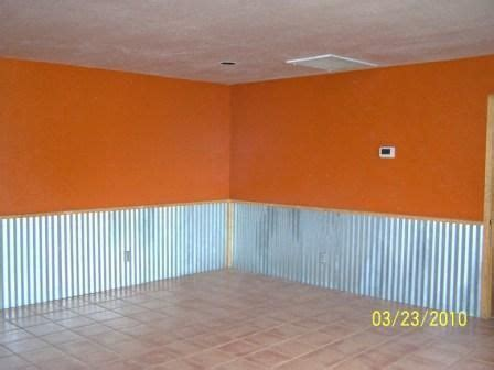 Tin Wainscoting Panels by Using Corrugated Tin For Ceiling Corrugated Metal