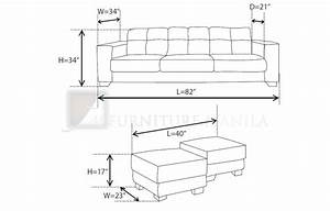 typical sofa length thesofa With sofa couch length