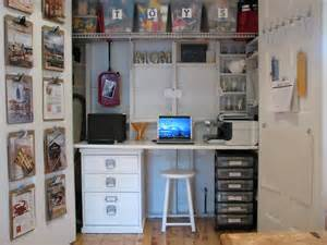 Kid Closet Organizer by 15 Closets Turned Into Space Saving Office Nooks