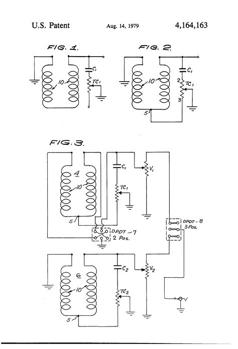 patent us4164163 electric guitar circuitry patents