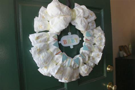 diaper wreath  instructions  ways