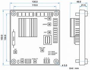 Permanent Magnet Generator Automatic Voltage Regulator
