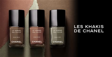 Military Inspired Polish By Chanel