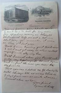 stash of letters from young ty cobb set for auction With ty cobb letter