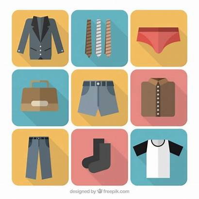 Icons Clothes Vector Clothing Variety Icon Pants