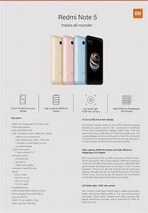 Xiaomi Redmi Note 5 And Redmi Note 5 Pro Specs Detailed In Full Ahead Of Launch