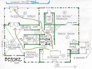 Home Transformed With Addition  Plus Reorganized Space And Traffic Flow