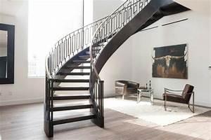 Escalier De Maison Interieur : escalier int rieur contemporain en 80 images superbes voir ~ Zukunftsfamilie.com Idées de Décoration