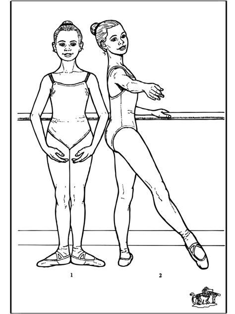 Ballet Kleurplaat by Ballet 7 Kleurplaat Ballet