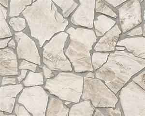 vliestapete stein optik naturstein as creation 9273 23 With balkon teppich mit wood and stone tapete