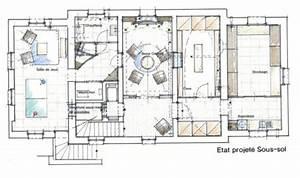 École Architecte D Intérieur : plan sous sol ~ Melissatoandfro.com Idées de Décoration