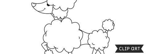 Poodle Template Printable by Poodle Template Clipart