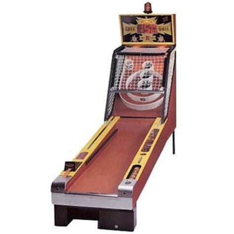 watts round floor classic skee ball arcade video games portland or
