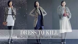 what to wear to a winter wedding youtube With dress to wear to a winter wedding