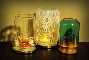 Boite En Verre Deco : d coration r cup bocaux en verre ~ Teatrodelosmanantiales.com Idées de Décoration