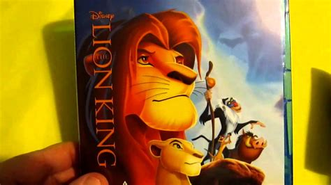 Unboxing The Lion King Trilogy Blu-ray