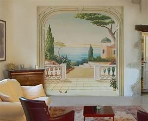 Papier Trompe L Oeil : w1108 papier peint trompe oeil ~ Premium-room.com Idées de Décoration