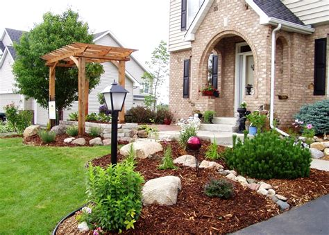small front yard decorating ideas 50 front yard landscaping ideas with gallery decoration y